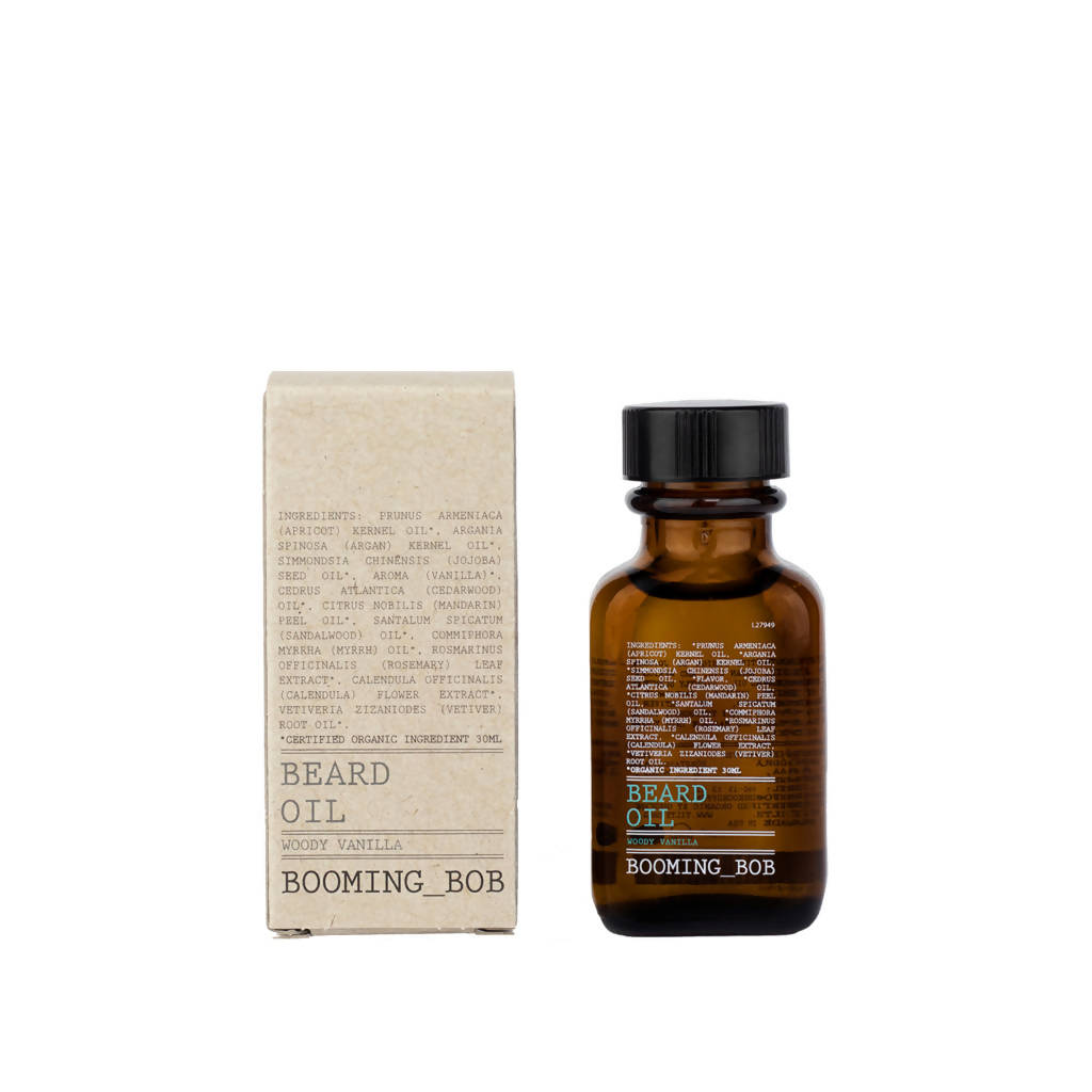 Beard Oil - Argan Moisture & Sweet Vanilla