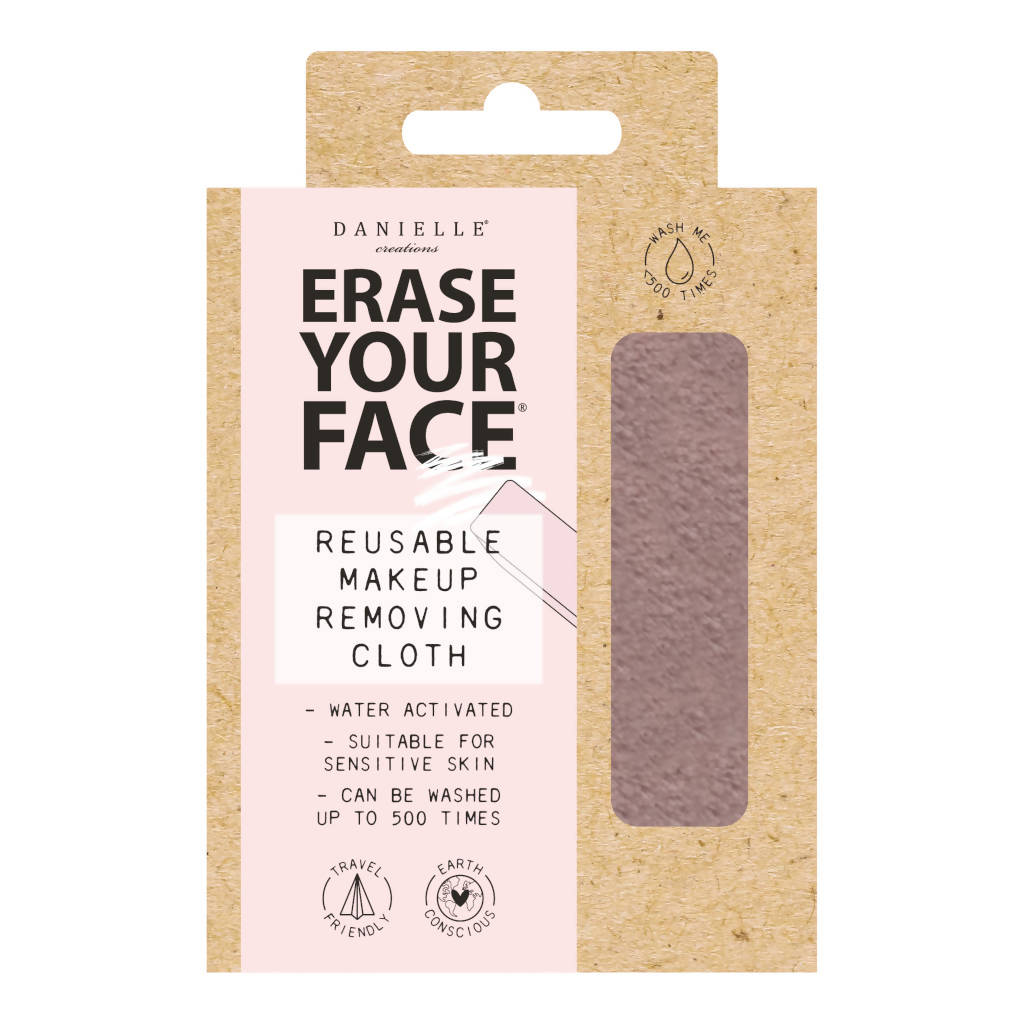 Eco Makeup Removing Cloth - Pastel Pink