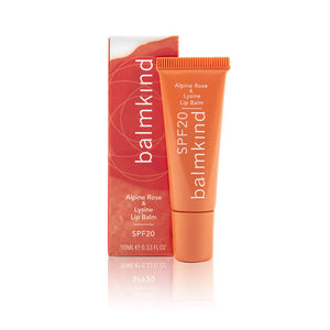 Alpine Rose & Lysine SPF20 Lip Balm
