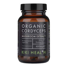 Load image into Gallery viewer, Organic Cordyceps Extract Mushroom Vegicaps - 60 Capsules