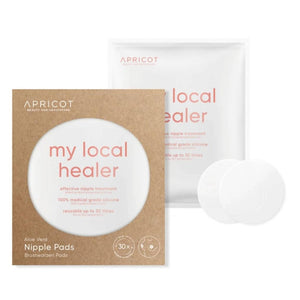 "Nipple Pads with Aloe Vera - ""my local healer"""