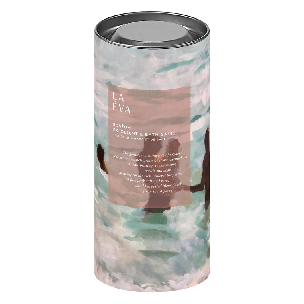 Rosēum Exfoliant & Bath Salts