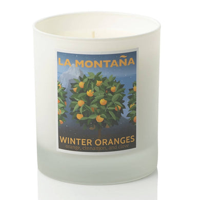 Winter Oranges Scented Candle