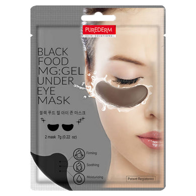 Purederm Blackfood MG:Gel Eye Zone Mask