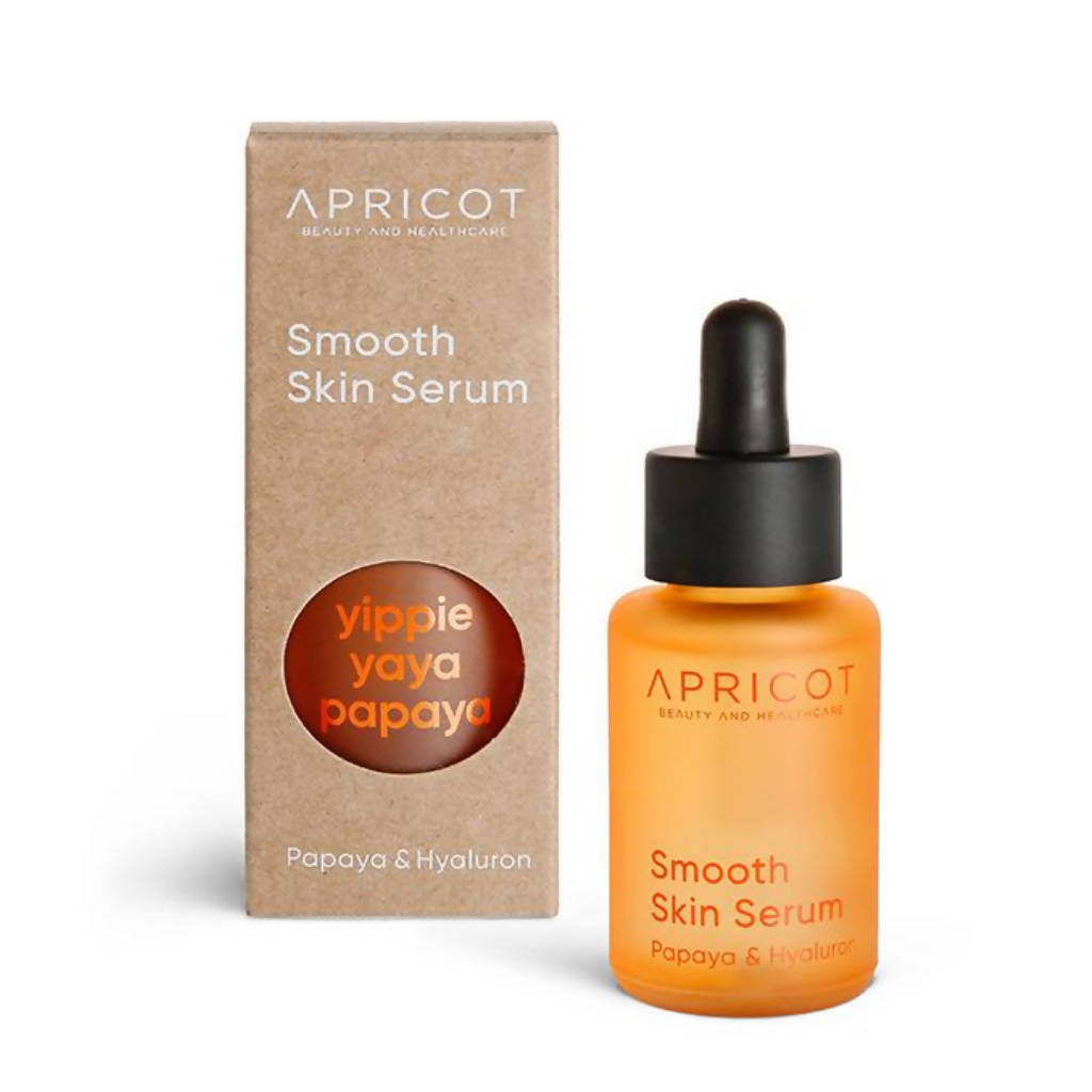 Smooth Facial Skin Serum with Papaya + Hyaluronic Acid -