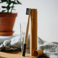 Load image into Gallery viewer, Bamboo Toothbrush Case
