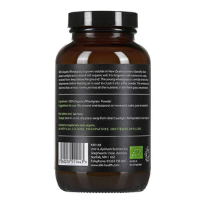 Organic Premium Wheatgrass Powder - 100g