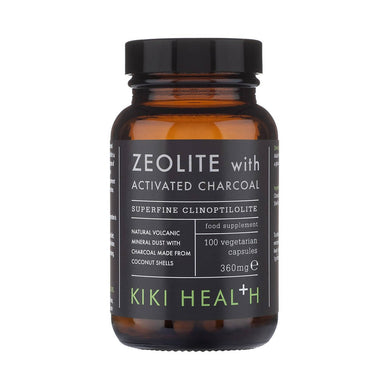Zeolite With Activated Charcoal Vegicaps - 100 Capsules