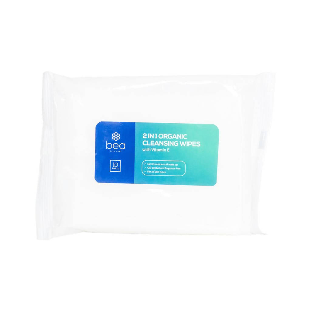 2 in 1 Organic Cleansing Wipes