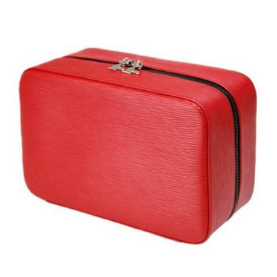 Gentleman's Travel Case - Red Leather