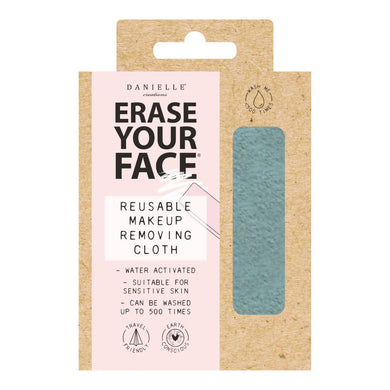 Eco Makeup Removing Cloth - Pastel Blue