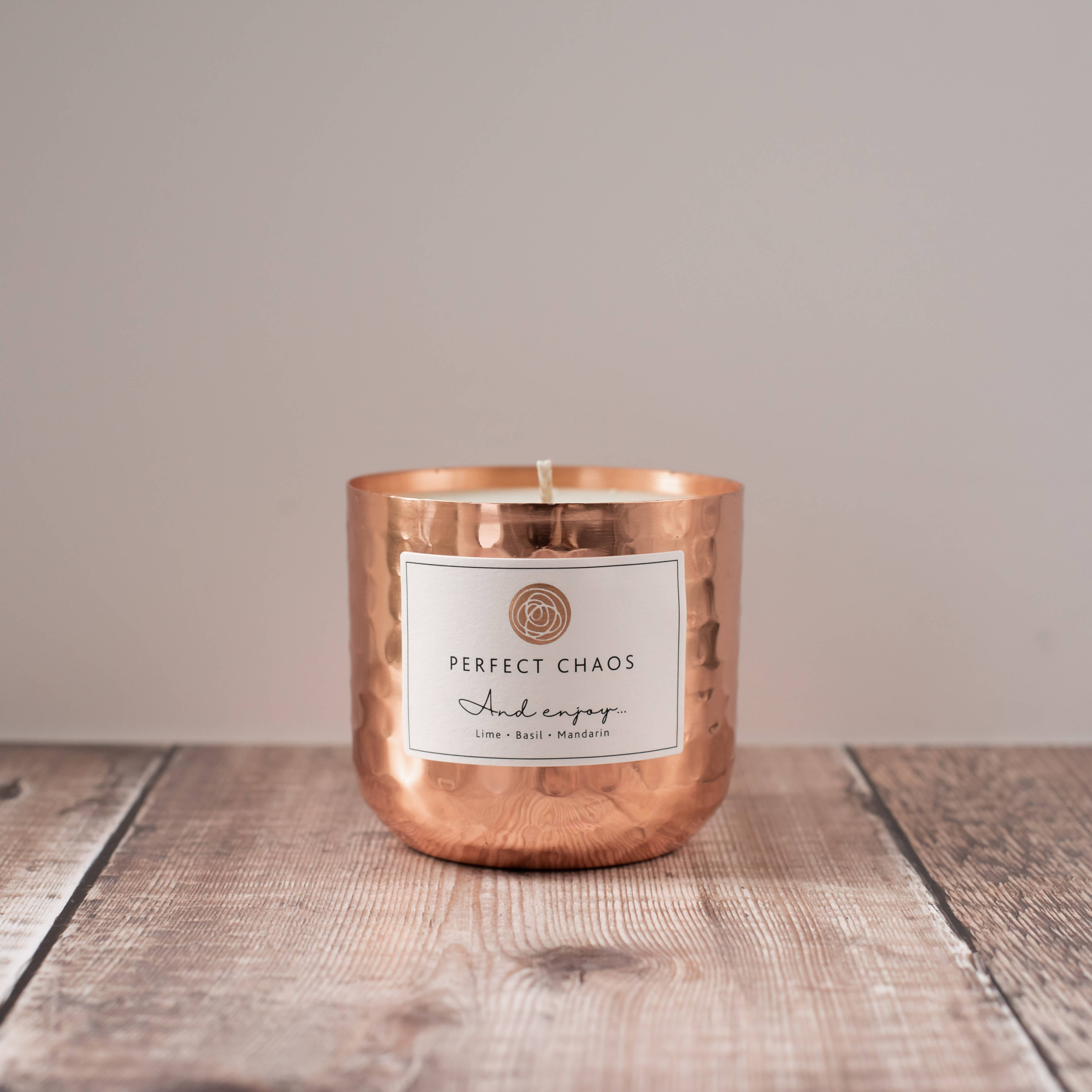 And Enjoy Copper Candle