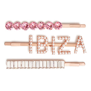 Ibiza Hair Slide Set