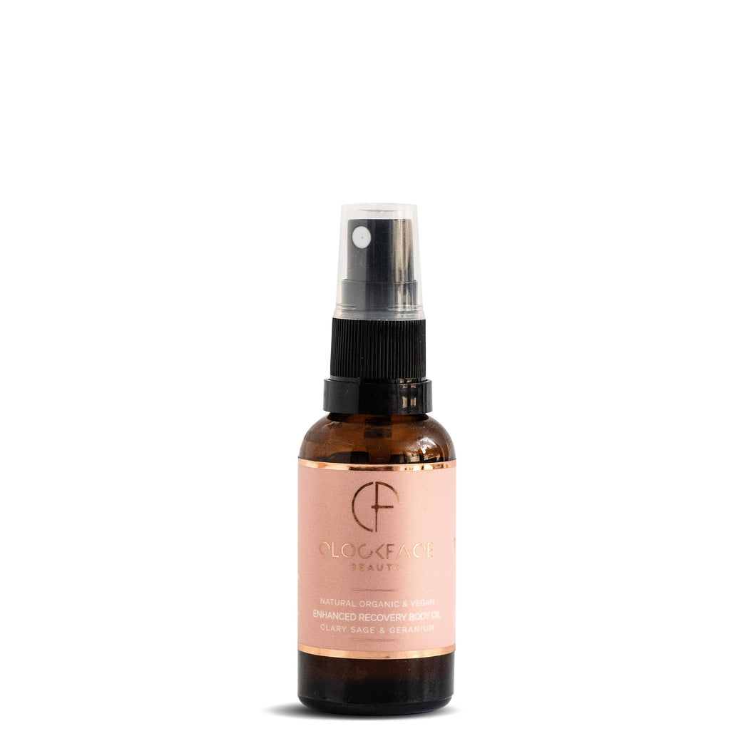 Enhanced Recovery Body Oil - Clary Sage and Geranium
