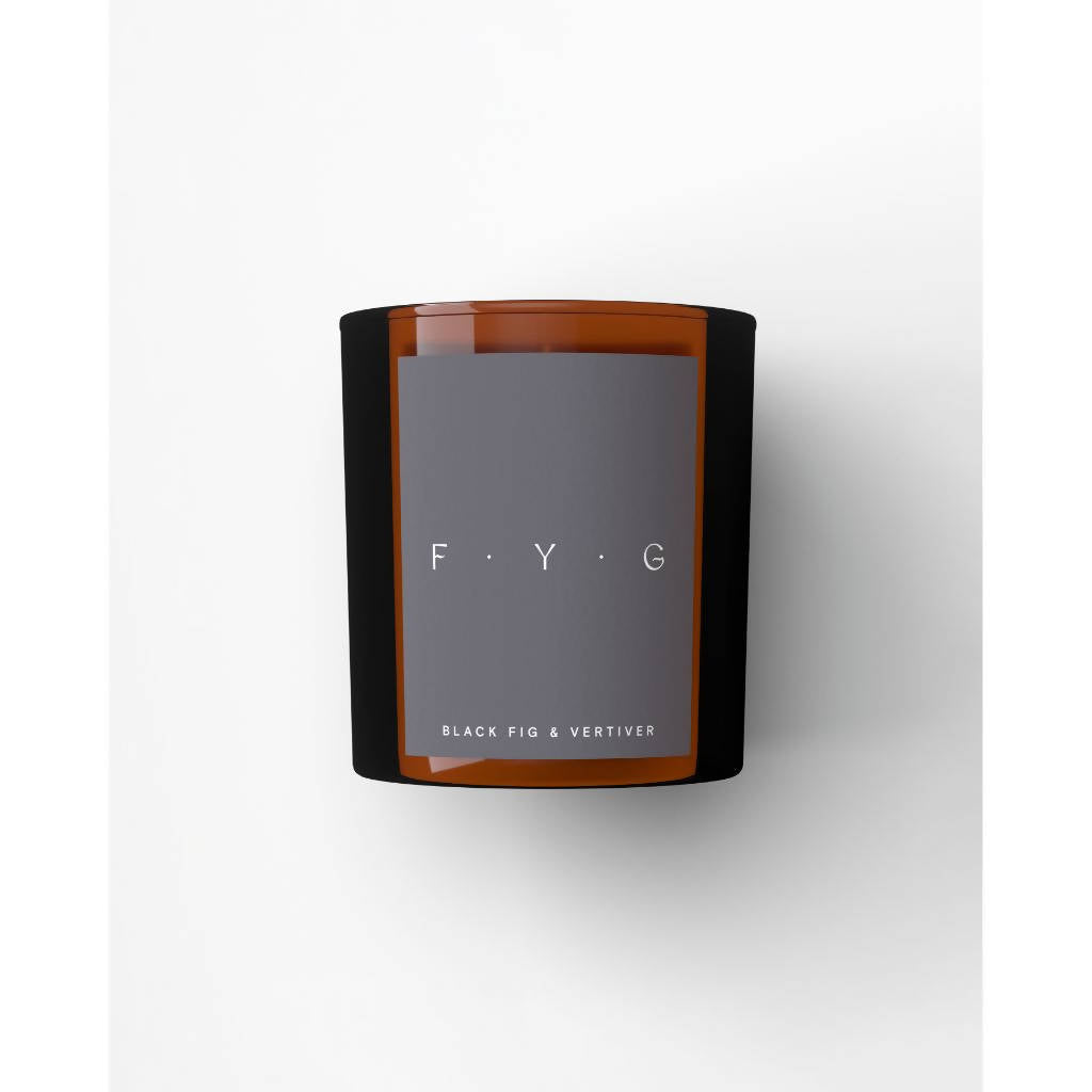 Black Fig & Vertiver Back to Basics Candle