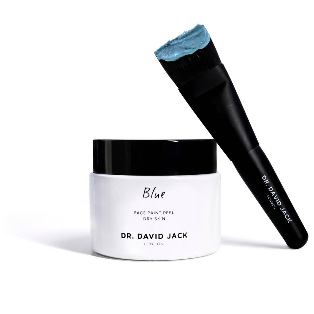 Dry Skin Face Paint Peel (Blue)