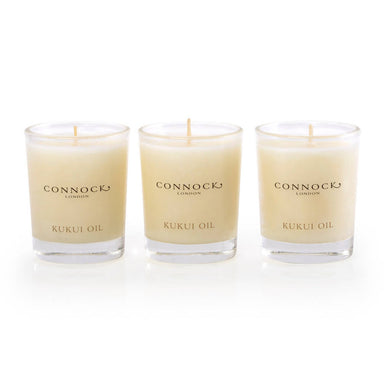 Kukui Oil Travel Candle Trio