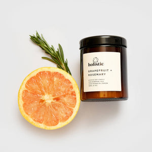 Grapefruit + Rosemary Candle