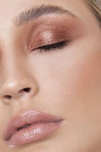 Glitter Chome Cream Eyeshadow - Rose Gold