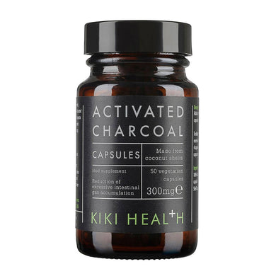 Activated Charcoal Vegicaps - 50 Capsules