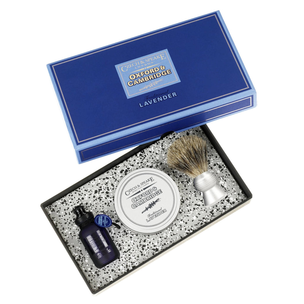 Oxford & Cambridge Travel Shave Set