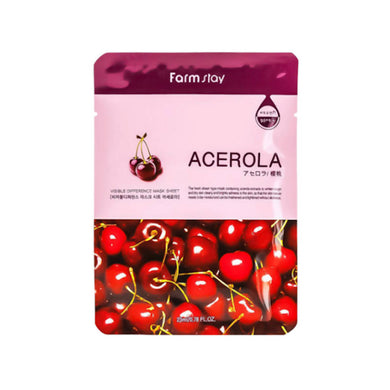 Farmstay Visible Difference Mask - Acerola