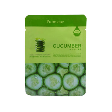 Farmstay Visible Difference Mask - Cucumber