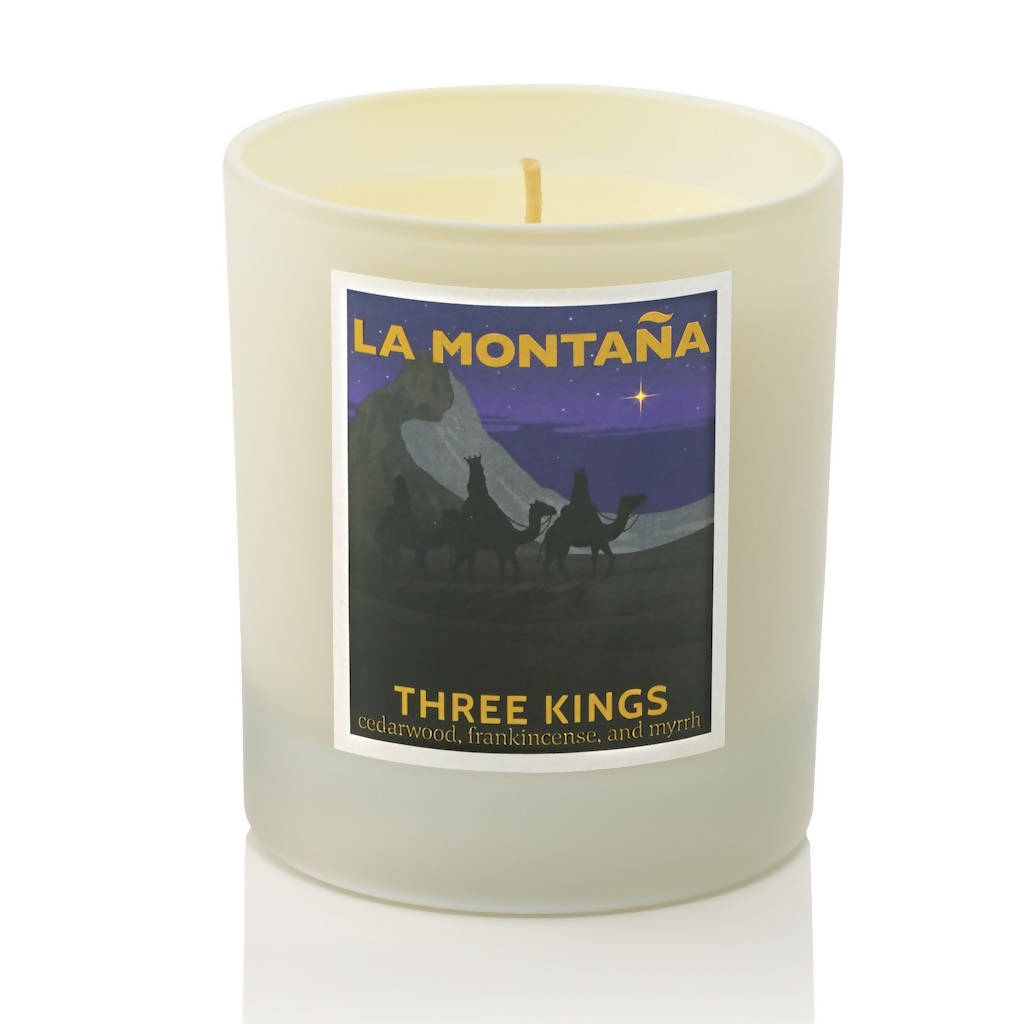 Three Kings Scented Candle