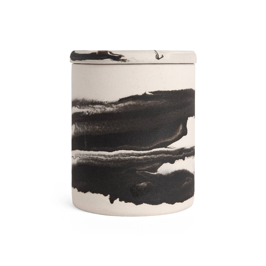 Bisila Noha x ELM RD. Ceramic Scented Candle