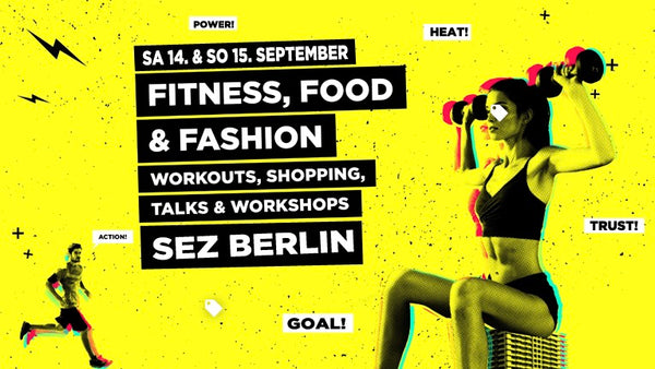 Satire Gym bei den URBAN FIT DAYS in Berlin !