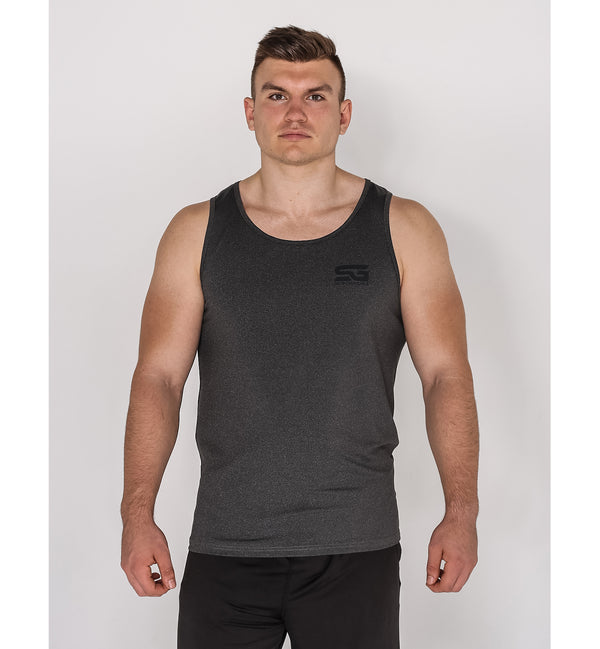 Tank Top - anthrazit meliert