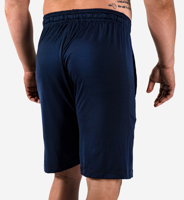 Loose Fit Shorts - navy blue