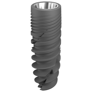 Implant dentaire - Ø 4.5 x 12 mm  + vis de couverture