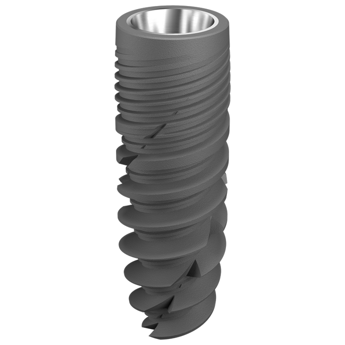 Implant dentaire - Ø 5 x 6 mm  + vis de couverture