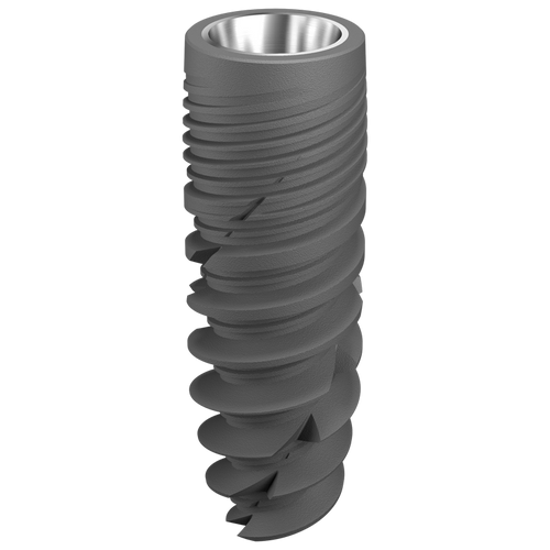 Implant dentaire - Ø 3.5 x 12 mm  + vis de couverture