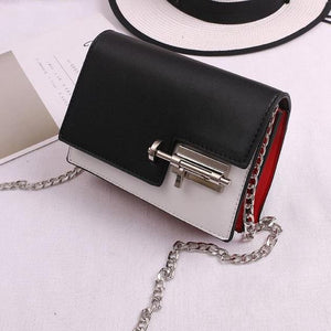 Casual Mini Clutch Purse With Mortise Lock Messenger Bag