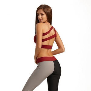 Designer Mesh Fitness Workout Yoga Sports Bra
