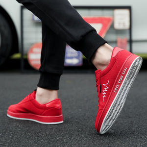 Men Casual Breathable Comfortable Skateboard Shoes Sneakers Verkadi.com