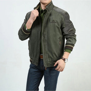 Stylish Fashion Stand Collar Warm Men's Jacket