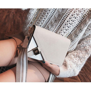 Street Style Small Flap Cross body Messenger Shoulder Handbag Verkadi.com