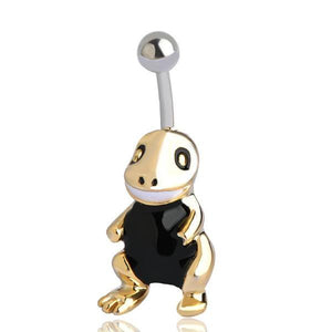 Trendy Enamel Turtle Navel Belly Button Piercing Ring Verkadi.com