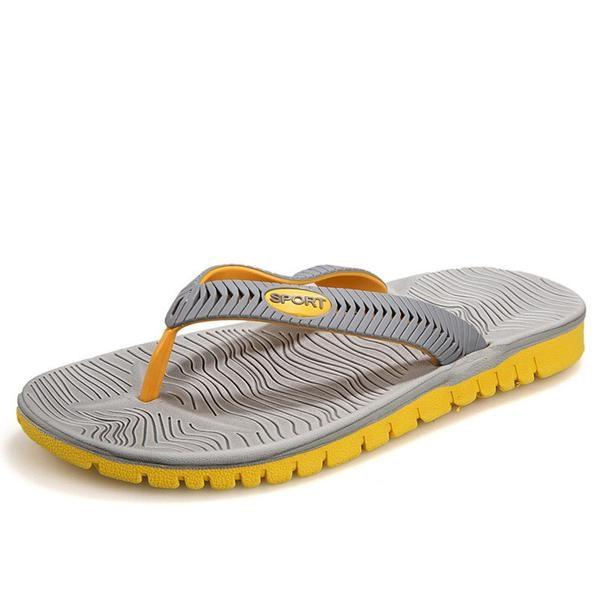 Multicolored EVA Beach Flip Flops Slippers