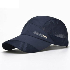 Unisex Trucker Snap back Breathable Camping Baseball Cap
