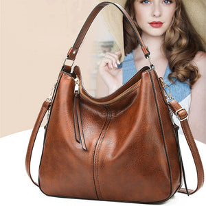Designer Vintage Hing End Leather Shoulder Handbag