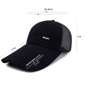 The Rapper Long Visor Snap Back Unisex Baseball Cap