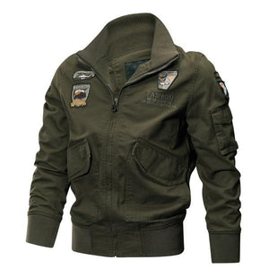 Air Force Style Designer Fashion Cotton Jacket Verkadi.com