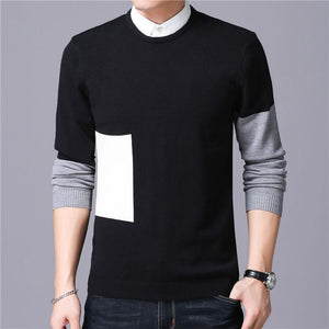 Knitted Cashmere Cotton Wool Pullover Sweater Verkadi.com