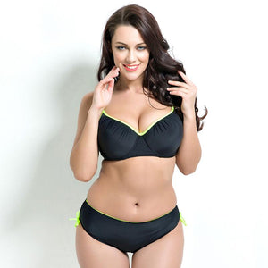 Plus Size Two Piece Swimwear Bikini Set Verkadi.com