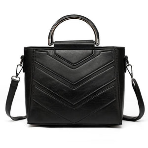 PU Leather Trendy Design Cross Body Handbag Verkadi.com