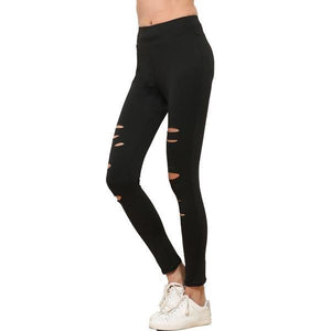 Push Up Ripped Workout Hollow Out Breathable Slim Legging